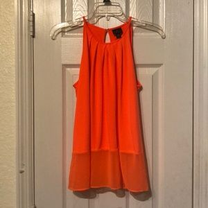 Bright Orange Blouse